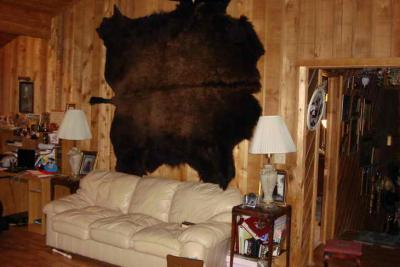 Buffalo Hide Rugs ‹� Montana Buffalo Robes